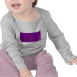 Falta de definición de movimiento púrpura y rosada camisetas