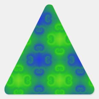 Falta de definición de neón del verde azul del mod etiquetas