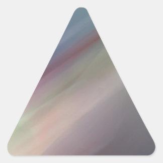 Falta de definición del arco iris pegatina