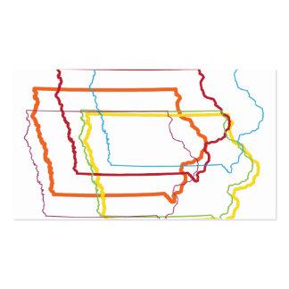 falta de definición del orgullo de Iowa Tarjetas De Visita
