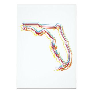 """falta de definición del orgullo de la Florida Invitación 3.5"""" X 5"""""""
