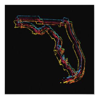 """falta de definición del orgullo de la Florida Invitación 5.25"""" X 5.25"""""""