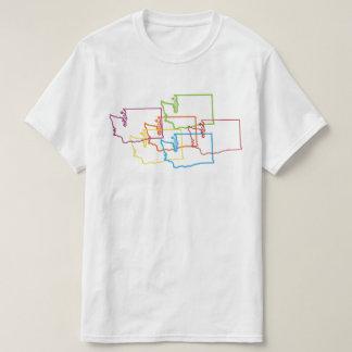 falta de definición del orgullo de Washington Camisas