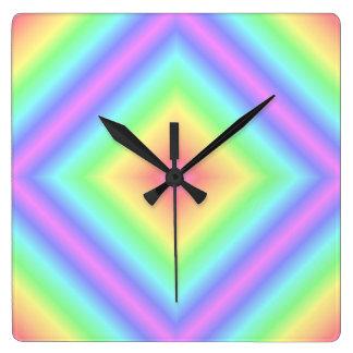 Falta de definición en colores pastel retra del ar reloj