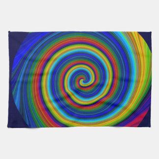 Falta de definición espiral toallas
