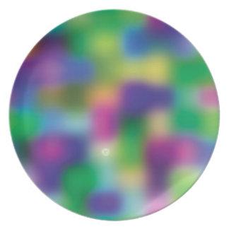 Falta de definición fucsia del color plato para fiesta