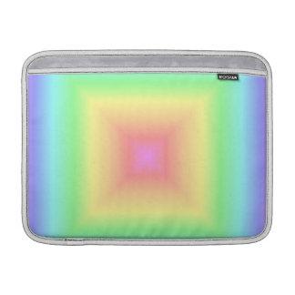 Falta de definición geométrica de los cuadrados de funda  MacBook