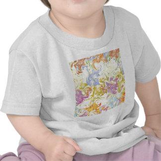 Falta de definición ligera abstracta camiseta