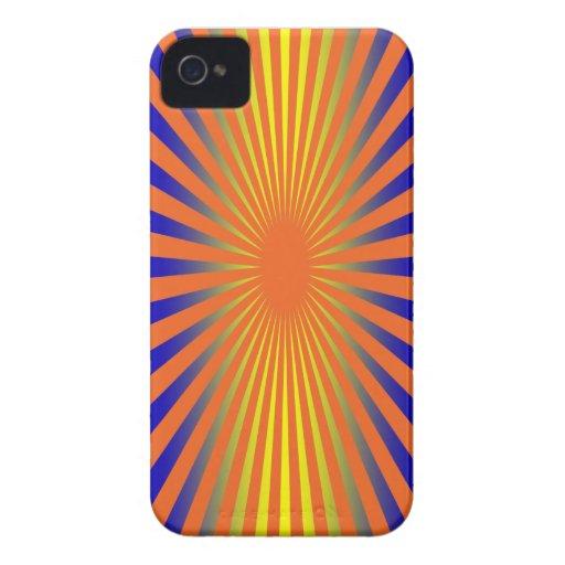 Falta de definición, naranja, smartphone amarillo Case-Mate iPhone 4 carcasas