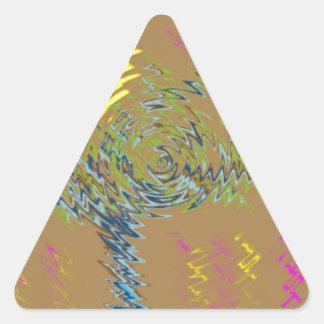 Falta de definición pegatinas de trianguladas