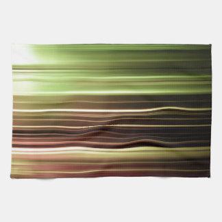Falta de definición verde de la velocidad toallas