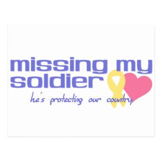 Falta de mi soldado postal