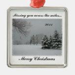 Falta de usted a través del Milla-Feliz navidad Adorno De Reyes
