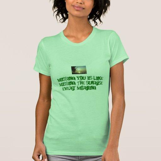 Faltándole camisetas sin mangas para las señoras