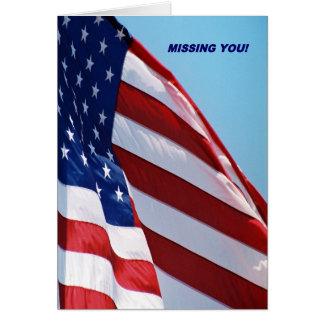 Faltándole Estados Unidos señalan por medio de una Tarjeta De Felicitación