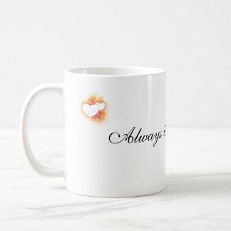Faltándole taza