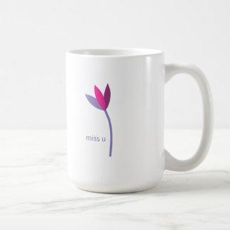 fáltele flor taza de café
