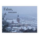 Falun, Sweden Postcard