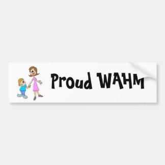 Fam1, Proud WAHM Bumper Sticker