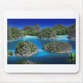 Fam Islands Raja Ampat archipelago Mouse Pad