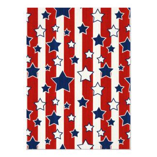 Fama americana invitación 13,9 x 19,0 cm