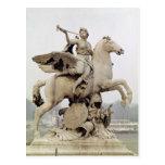 Fama que monta Pegaso 1699-1702 Tarjetas Postales