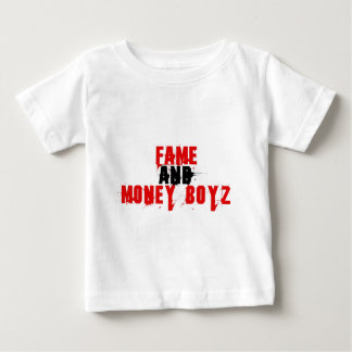 FAME AND MONEY BOYZ logo Baby T-Shirt