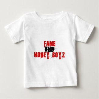 FAME AND MONEY BOYZ logo Infant T-shirt
