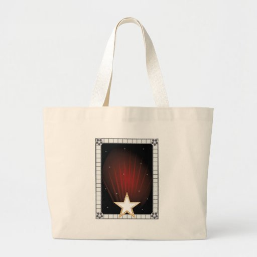 Fame Background Canvas Bags