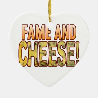 Fame Blue Cheese Ceramic Ornament