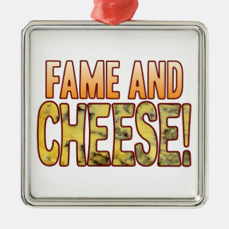 Fame Blue Cheese Metal Ornament