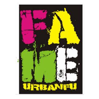 FAME Colours Postcard