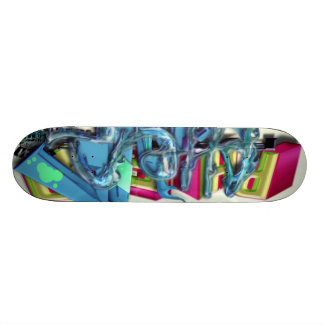 Fame On The Go - Wet Tag Skateboard Deck