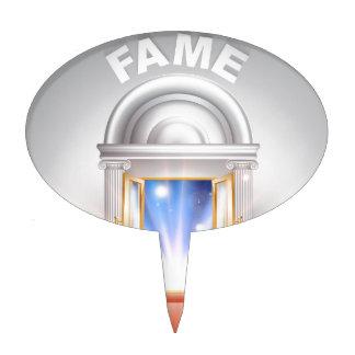 Fame red Carpet Door Cake Pick