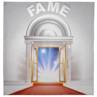 Fame red Carpet Door Cloth Napkins