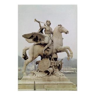 Fame Riding Pegasus  1699-1702 Poster