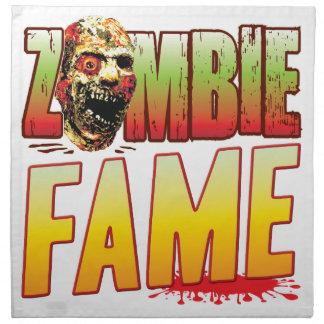 Fame Zombie Head Printed Napkin