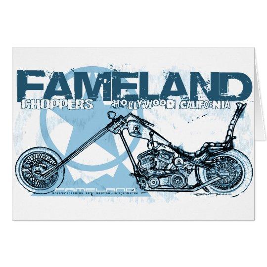fameland choppers hollywood card