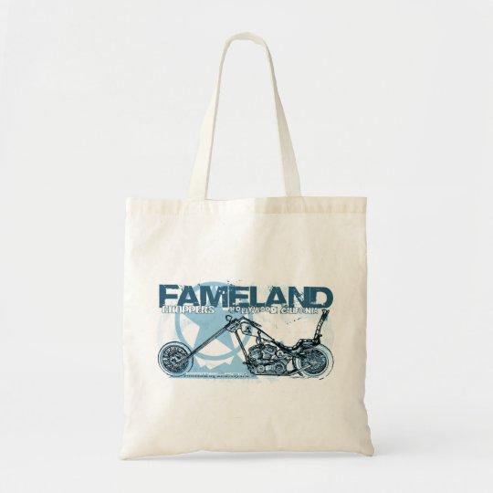 fameland choppers hollywood tote bag