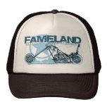 fameland choppers hollywood trucker hat
