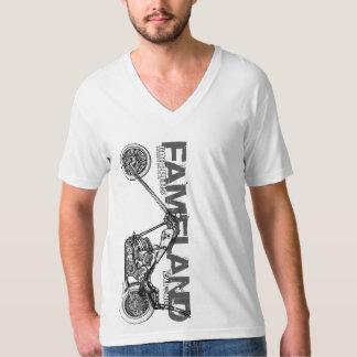 Fameland Custom Motorcycle T-Shirt