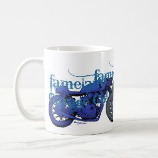 Fameland Garage Company - Planet Blue Edition Coffee Mug