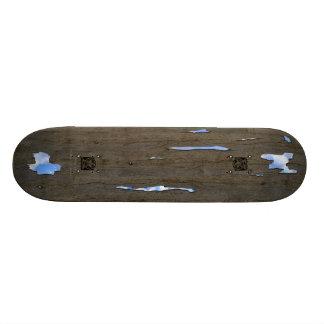 Fameland's Weird Rotten Wood Skateboard #2