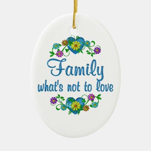 Familia a amar ornamento de reyes magos