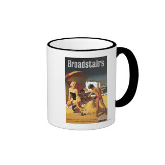 Familia británica meridional de los ferrocarriles  taza de café