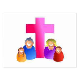 Familia cristiana postal