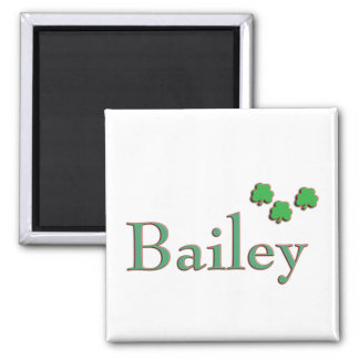 Familia de Bailey Imán Cuadrado