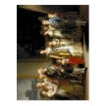Familia de Carlos del La de Francisco de Goya y Lu Tarjeta Postal