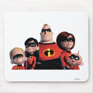 Familia de Disney Incredibles Alfombrillas De Ratón