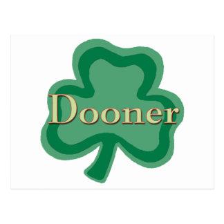Familia de Dooner Tarjeta Postal